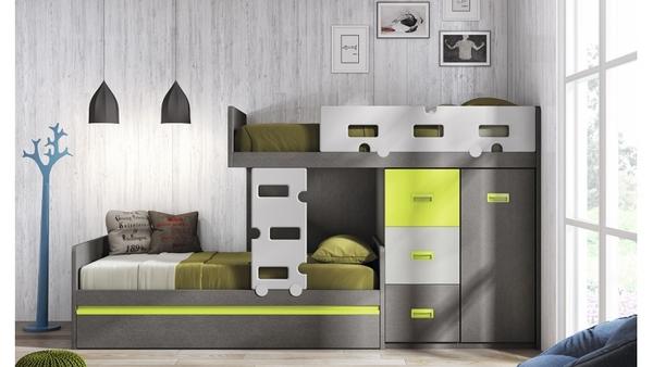 Muebles juveniles de diseo dormitorio juvenil decoratrix for Muebles juveniles albacete